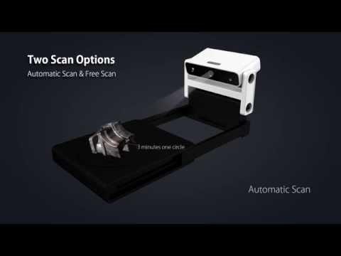 EinScan-S – ny 3D-skanner i sortimentet