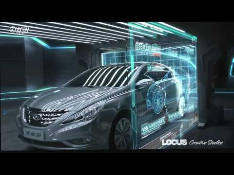 V-Ray Automotive showreel