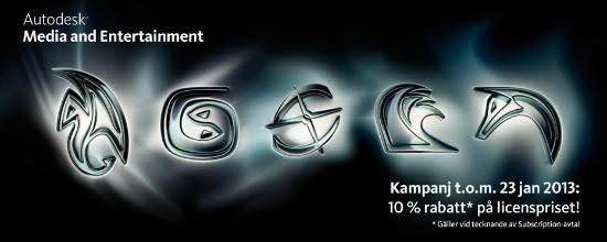 CT-kampanj: 10% rabatt på Autodesk-licenser
