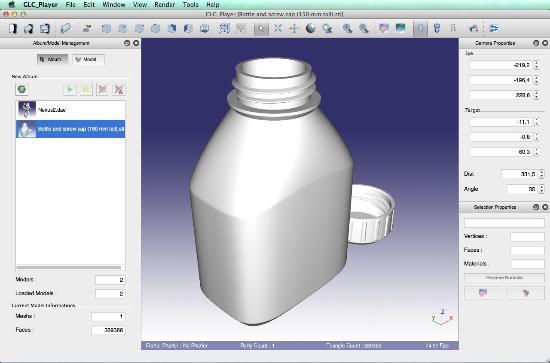 Gratis visare för 3D-modeller