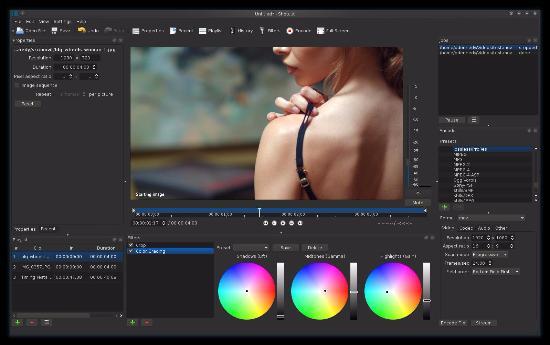 Shotcut – Öppet videoredigeringsprogram