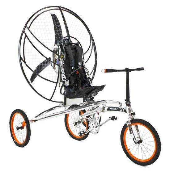 Paravelo – den flygande cykeln!