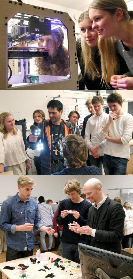 Sven Eriksonsgymnasiet på studiebesök