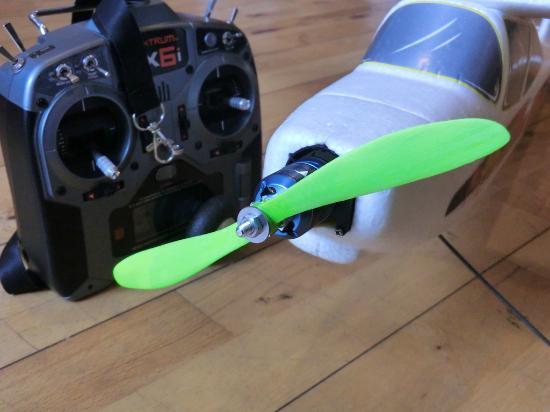 Dagens 3D-print – Propeller till radiostyrt modellflygplan