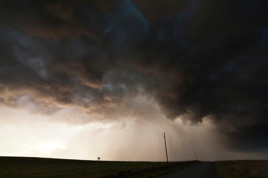 Fantastiska fotografier av stormar