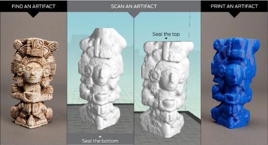 Om vattentäta 3D-skanningar med MakerBot Digitizer