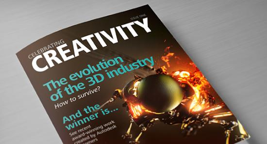 Celebrating Creativity – ny 3D-tidskrift