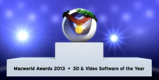 CINEMA 4D vann Macworld Award 2013!