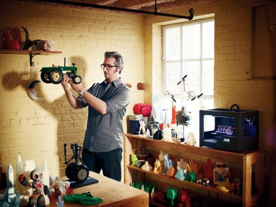 WIRED skriver om MakerBot Replicator 2