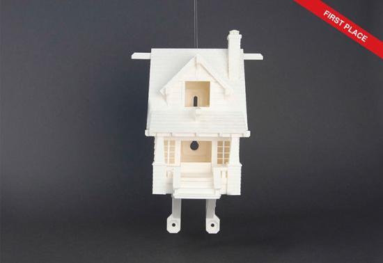 Se vinnarna av MakerBots fågelholkstävling