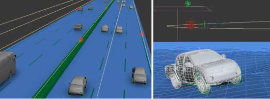 Maxscript för trafiksimulering