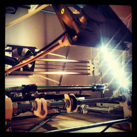 Dagens 3D-print – Mickes bygge av en RepRapPro