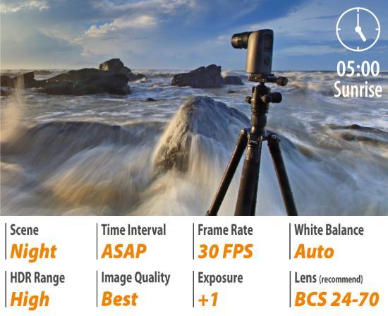 Fördelen av att använda en Brinno istället för DSLR för time-lapse videor