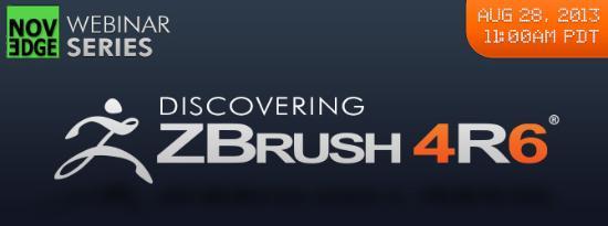 Lär dig vad som är nytt i ZBrush 4R6