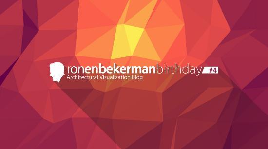 RonenBekerman.com fyller 4 år