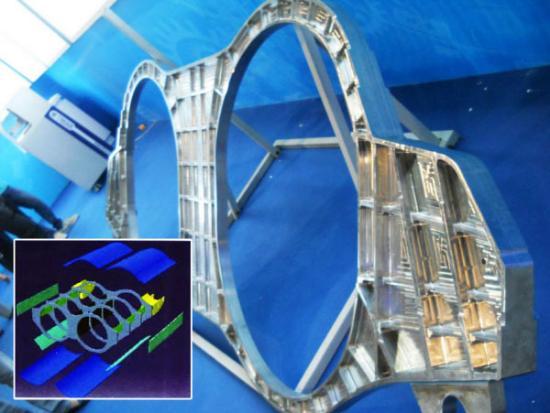 Största 3D-printade flygplansdelen i titan
