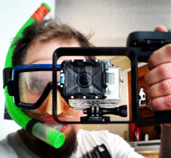 Dagens 3D-print – Undervattensram för GoPro-kamera