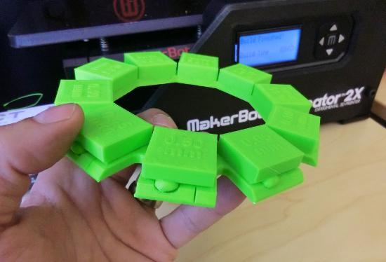 Dagens 3D-print – Karusell av stödmaterialgap
