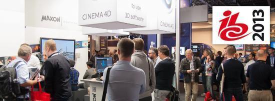 Se CINEMA 4D R15 på IBC i Amsterdam