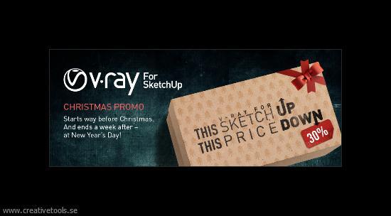 V-Ray for SketchUp Christmas Promo
