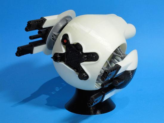 Dagens 3D-print – Oblivion Defender Drone