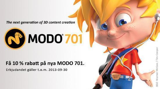 Ny MODO 701 med 10% rabatt – sista dagarna!