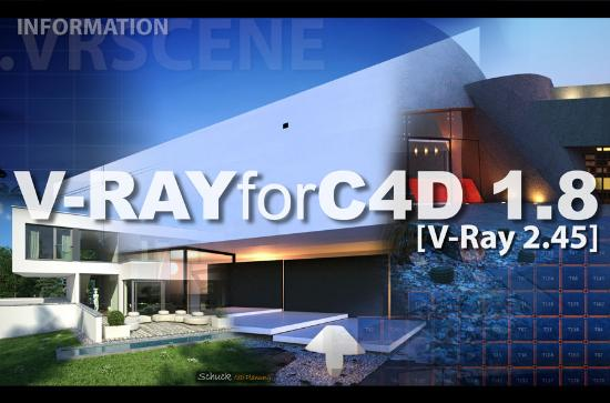 V-RAYforC4D 1.8 släpps i september