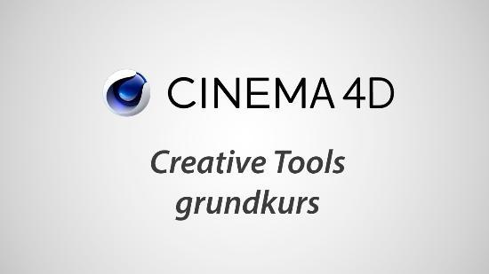 Gå på CINEMA 4D-kurs hos Creative Tools