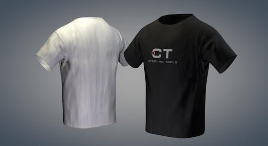 Gratis anpassningsbar T-tröja från Pixel Lab