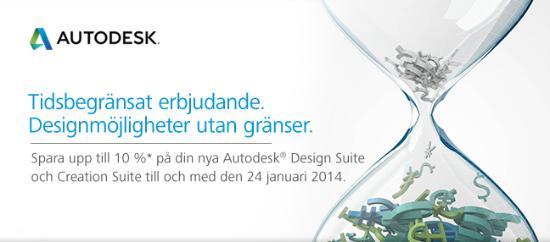 Förlängt erbjudande från Autodesk