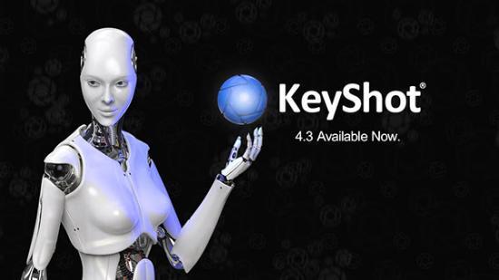 KeyShot 4.3 släppt