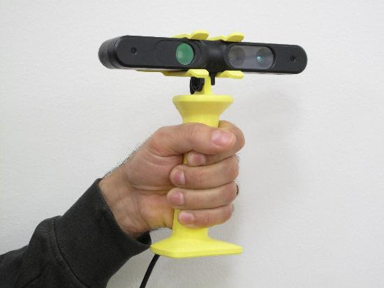 Dagens 3D-print – Handtag till ASUS XTION 3D-skanner
