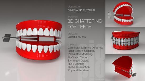 Skapa 3D-ögon i CINEMA 4D