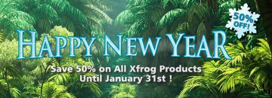 Halva priset på Xfrog Plants till 31 jan!