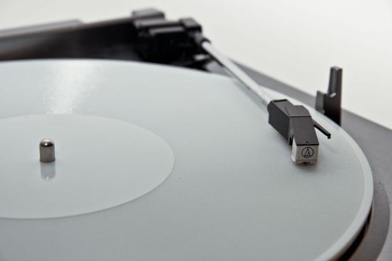 Uppspelning av 3D-printat vinylskiva