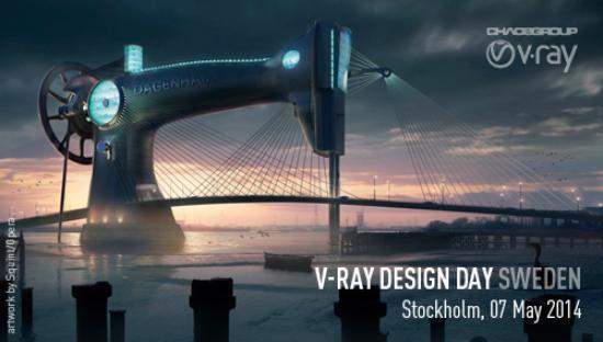 V-Ray Design Day Sweden imorgon den 7 maj