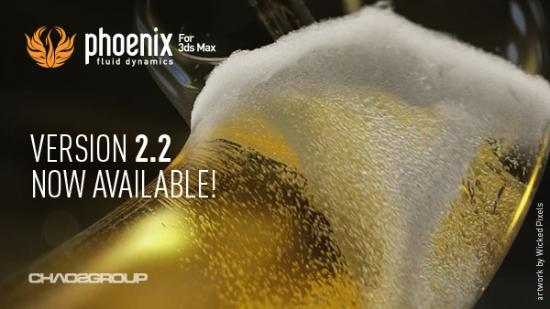 Phoenix FD 2.0 for 3ds Max SP2 ute nu!