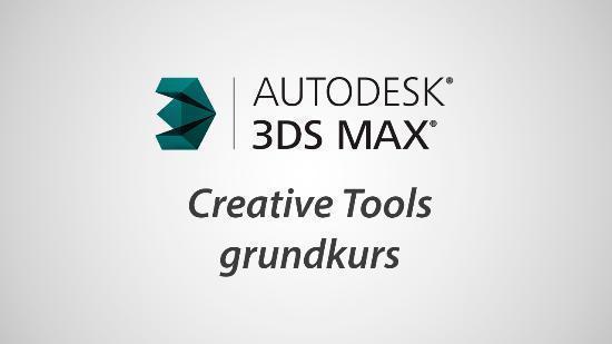 Gå en kurs i Autodesk 3ds Max hos oss!