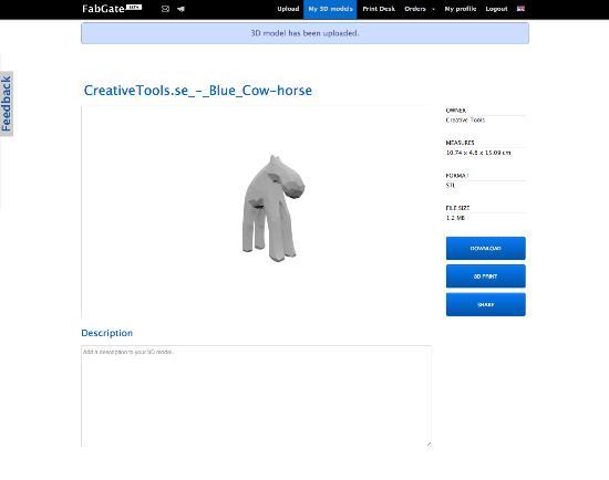 Exportera STL-filer från SketchUp för 3D-printing