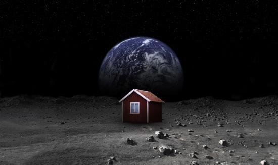 Ska Sverige få det första huset på månen?