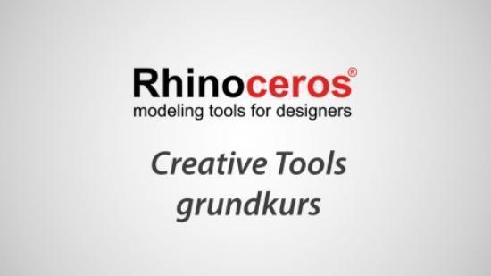 Gå Rhino 3D-kurs hos oss den 17-18 juni!