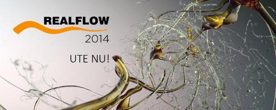 Det nya gränssnittet och arbetsflödet i RealFlow 2014