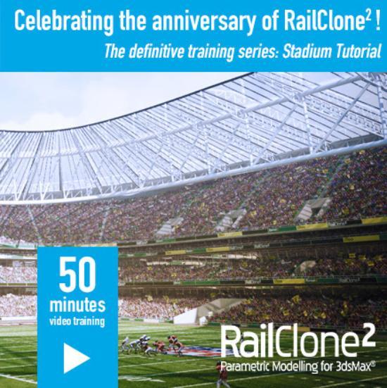 """iToo firar 1-åriga RailClone2 med """"Stadium"""""""