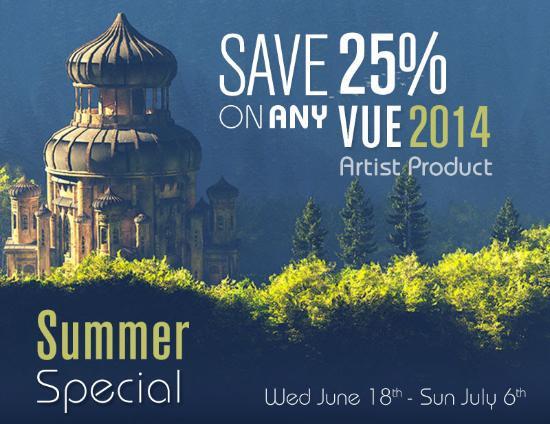 Sommarspecial Vue Complete, Studio, och Esprit 2014