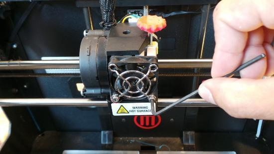 Analog 3D-skrivare fascinerar