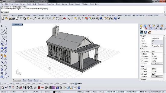 Skapa blad längs splines i Autodesk 3ds Max