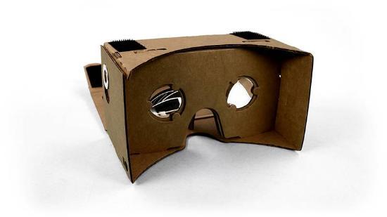 Gör dina egna VR-glasögon med Google Cardboard