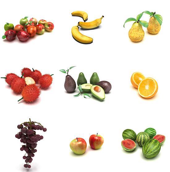 Nytt från Dosch Design: Frukter