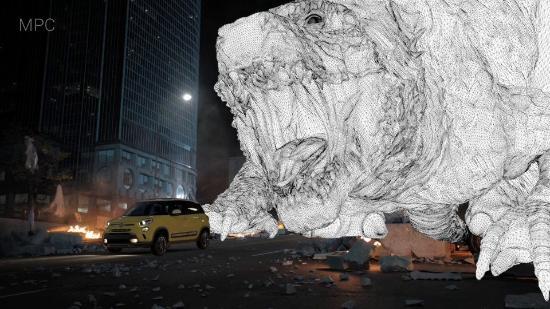 """Bakom kulisserna på Fiats snygga """"Godzilla""""-reklamvideo"""