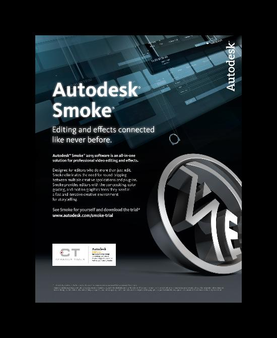 Autodesk Smoke 2013 – just nu 20% rabatt